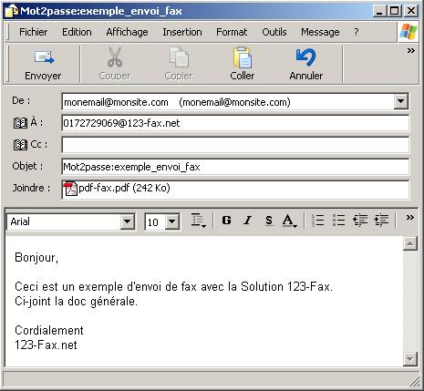 Exemple D Un E Mail - Le Meilleur Exemple